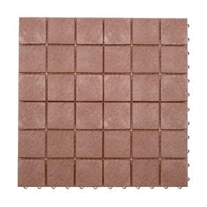 典雅組合地板 30x30x1.6cm 4片 深木色 WALNUT