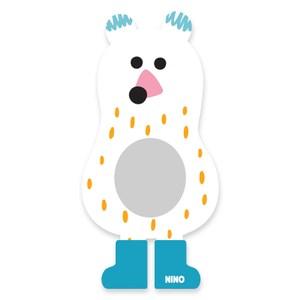 韓國nino兒童彩繪壁貼鏡 胖胖北極熊