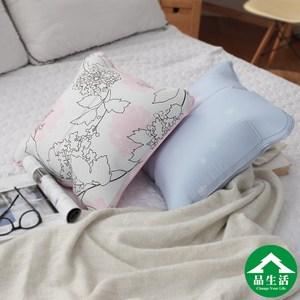 【品生活】頂級不流動凝膠冰涼抱枕45*45CM(藍)
