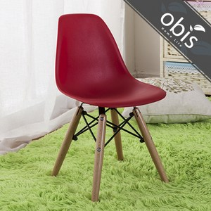 obis 歐風經典造型兒童椅TN/051W 紅色