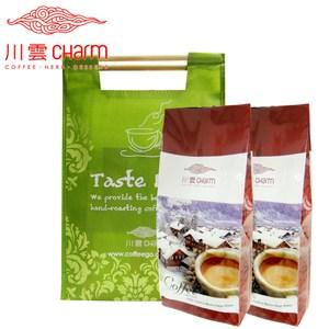 川雲 哥倫比亞 翡翠山(1磅)&肯亞 頂級AA(1磅) 提袋組細度1:Espresso咖啡
