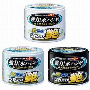 Soft99 激防水增豔汽車蠟(銀粉色車用)
