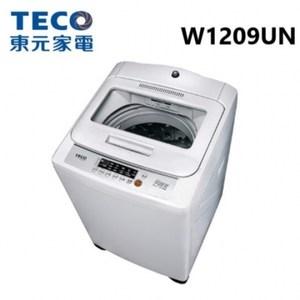 TECO 東元 12KG  人工智慧定頻超音波洗衣機 W1209UN