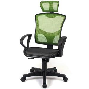 【aaronation】愛倫國度 - 步步高昇全透氣電腦網椅(23-2綠