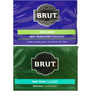 Brut男士古龍水香皂傳統*3+革新*3古龍水香味(99g*2)*6