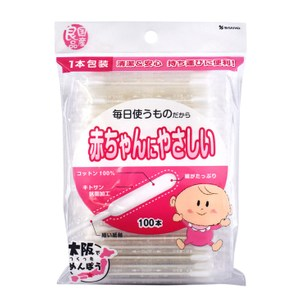 SANYO嬰幼兒用棉花棒100支入(袋裝)