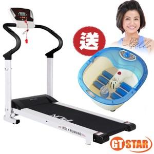 【GTSTAR】心跳升級版電動跑步機-黑-送泡腳機
