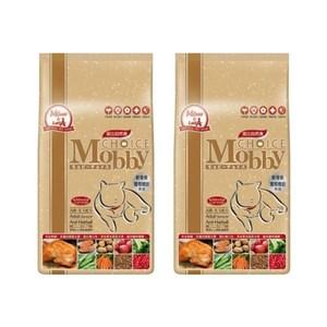Mobby 莫比 高齡貓 老貓 抗毛球 配方 自然食飼料 1.5kg X 2包