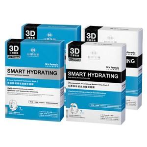 台塑生醫Dr's Formula丰潤肌保濕面膜4入組玻尿酸*2盒+九胜肽*2盒