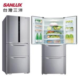 SANLUX 台灣三洋 SR-B551DVF 551L 銀 4門冰箱能源效率1級