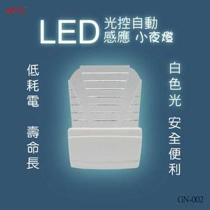 明家 LED光控自動感應小夜燈 GN-002