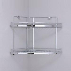 尊爵不鏽鋼二層轉角架(扇型)
