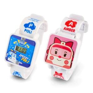 【POLI波力】百變可愛手錶*2入(波力/安寶任選)波力+安寶