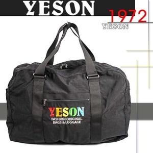YESON - 輕巧超容量收納摺疊旅行袋-MG-52924-黑