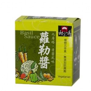 村家味蘿勒青醬(五辛素) 30gX8入盒裝