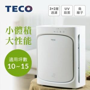 TECO東元高效節能UV殺菌空氣清淨機/適10-15坪NN2402BD