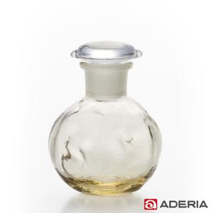 ADERIA 日本進口圓形玻璃調味罐80ml(黃)
