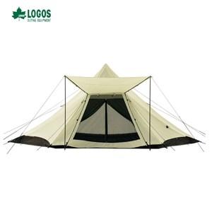 日本LOGOS Tepee G/B 印地安帳520-AH 8人大帳篷
