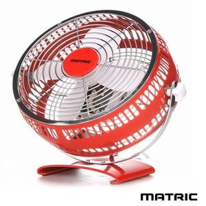 日本松木 MATRIC Magic 魔幻紅8吋金屬循環扇 MG-AF0801