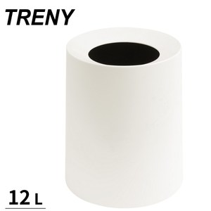 【TRENY】 日式雙層垃圾桶 12L