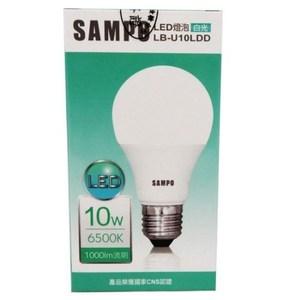 聲寶SAMPO 10W高功率LED燈泡(白光) 1入