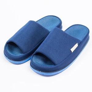 樂嫚妮 穴道按摩室內拖鞋-頭部-男款穴道拖鞋-男深藍