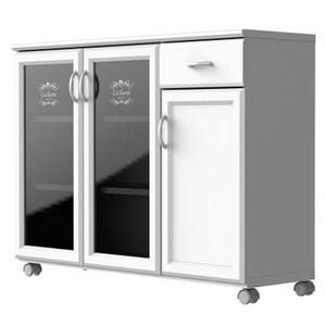新伊凡單抽三門廚用櫃 111.5x35.5x84.1cm