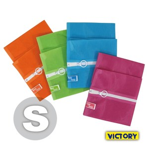 【VICTORY】彩色洗衣袋 S 30x35cm(4入組)