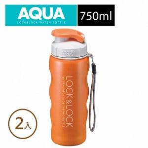 樂扣樂扣不鏽鋼水杯750ML/橘色c8(2入)