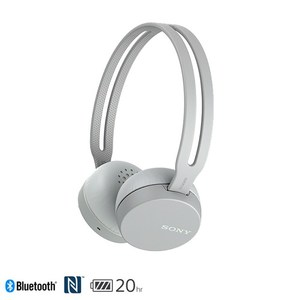 SONY WH-CH400 無線耳罩式耳機 灰色H