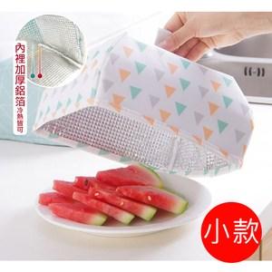 【佶之屋】簡約居家折疊保溫飯菜罩/餐罩(小)-白色三角形