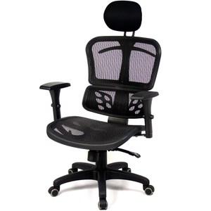 aaronation愛倫國度 - 頭枕式藍鑽級蝴蝶網背辦公椅/電腦椅/