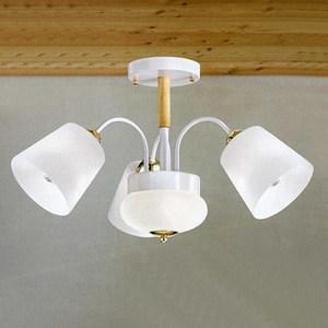 YPHOME 北歐風臥室半吸頂3燈 A12292L