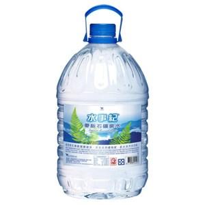 【統一水事紀】麥飯石礦泉水5000mlX2桶/箱1箱