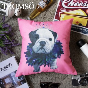 TROMSO品味英倫棉麻抱枕/公主法鬥
