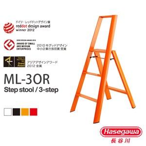 【長谷川Hasegawa設計好梯】Lucnao設計傢俱梯三階橘色(79CM)