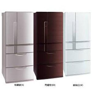 三菱 MITSUBISHI 日本原裝 635L六門變頻電冰箱 MR-JX64W