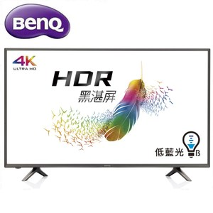 BenQ 43吋真4K HDR智慧連網LED液晶顯示器+視訊盒43JR700