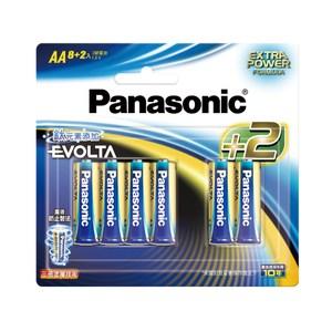 Panasonic 鈦元素電池3號8+2