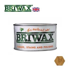【英國Briwax】拋光上色蠟-橡木色 370g(上色蠟)