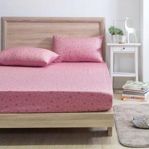 MONTAGUT-盛開綻放-200織紗精梳棉三件式床包組(加大)