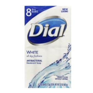 美國Dial黛雅水嫩香皂-抗菌除臭(4oz*8)*2組