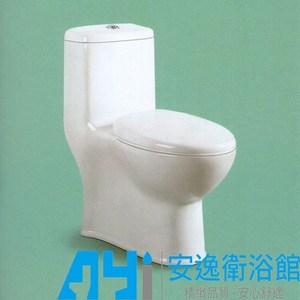 噴射虹吸式單體馬桶 K38 白色