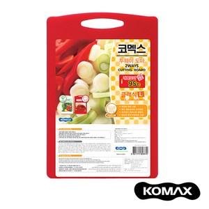 韓國KOMAX 抗菌銀離子頂級兩用砧板(大)大