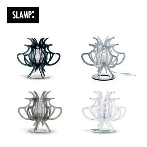 【SLAMP】COMODINA桌燈(黑/白/透明/彩色)彩色