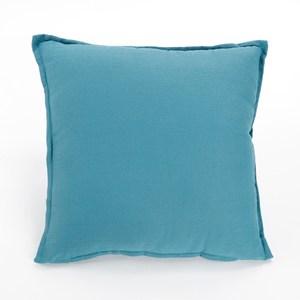 棉麻素色抱枕套45x45cm 綠