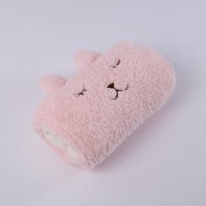 舒棉暖手套36x25cm-粉紅兔