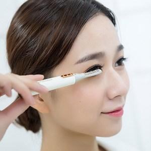 PUSH!居家生活用品感溫矽膠電動睫毛卷翹器I78