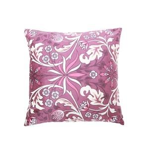 HOLA 斐麗抱枕套45x45cm 花燦紫紅
