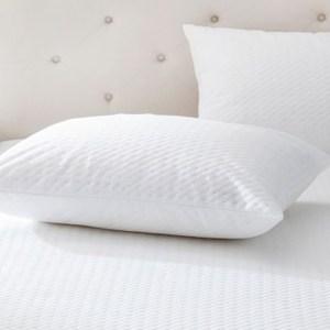 HOLA home舒柔針織防蟎防水保潔墊枕用2入